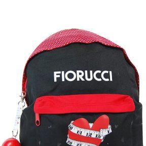 Σχολική Τσάντα Fiorucci Γυμνασίου-Λυκείου 41cm x 29cm x 12cm 79616CDS-MULTICOLOR