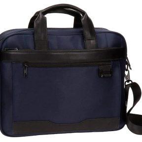Χαρτοφύλακας JoummaBags Με Θέση Για Laptop 15′ 40 x 32 x8cm 5336653-BLUE