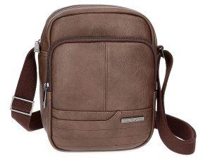 Τσάντα Ώμου Movom 17 x 22 x 8 cm 5365462-BROWN