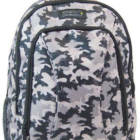 Σχολική Τσάντα Zero Γυμνασίου-Λυκείου 41cm x 30cm x 14cm 8185651-MULTICOLOR