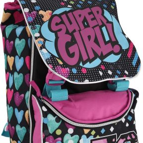 Σχολική Τσάντα Blink Τετράγωνη Super Girl 5206962080264