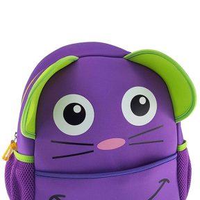 Σχολική Τσάντα Animal Friends Mouse 5202860600344-PURPLE