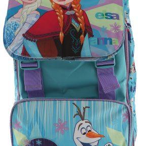 Σχολική Τσάντα Frozen Δημοτικού Τετράγωνη 39cm x 27cm x 13cm Flap Flipbook 11116-8284-MULTICOLOR
