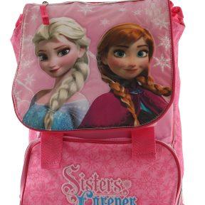 Σχολική Τσάντα Frozen Δημοτικού Τετράγωνη 39cm x 27cm x 13cm 6275111P-MULTICOLOR