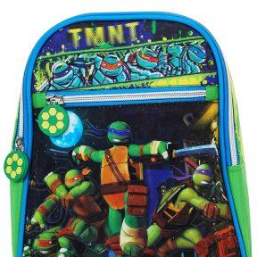 Σχολική Τσάντα Turtles Νηπιαγωγείου Με Μπροστινή Τσέπη 29cm x 21cm x 9cm 5595055P-MULTICOLOR