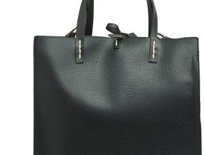 Τσάντα Χειρός Manila Grace Borsa Fellis Medium B001EU-MD500 NERO