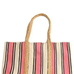 Τσάντα Ώμου Marilou Πλεκτή Ριγέ BDS-1438-A-MULTI