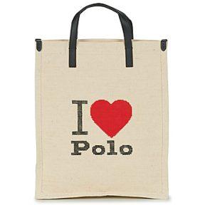 Shopping bag Polo Ralph Lauren I HRT POLO CVS/LTHR