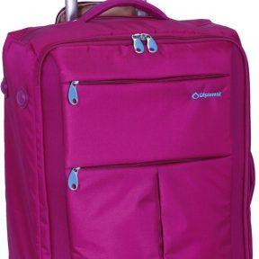 Βαλίτσα καμπίνας τρόλεϊ 48X34X19 Diplomat ZC 8004-48 Φουξια