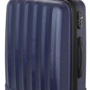 Βαλίτσα Μεσαία Σκληρή 4 Ρόδες 60 εκ Stelxis 505-60 Μπλε