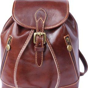 Δερμάτινη Τσάντα Πλάτης Luminosa Firenze Leather 6559 Καφε