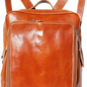 Δερματινη Τσαντα Πλατης Firenze Leather 6558 Μπεζ