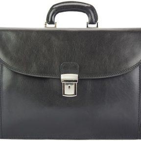 Δερματινος Χαρτοφυλακας Beniamino Firenze Leather 7630 Μαύρο