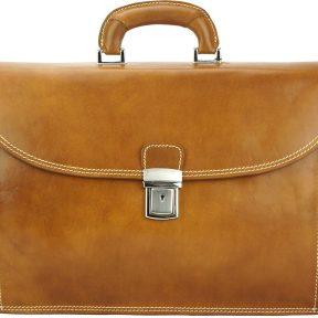 Δερματινος Χαρτοφυλακας Beniamino Firenze Leather 7630 Μπεζ