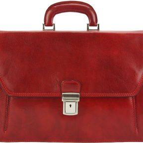 Δερματινος Χαρτοφυλακας Mini Sergio Firenze Leather 7606 Κόκκινο