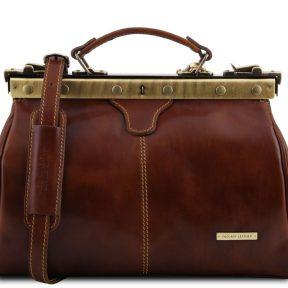 Ιατρική Τσάντα Δερμάτινη Michelangelo Καφέ Tuscany Leather