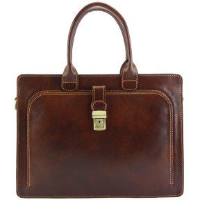 Δερματινος Χαρτοφυλακας Giacinto Firenze Leather 7635 Καφέ