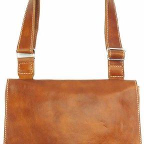 Τσάντα Ταχυδρόμου Flap Firenze Leather 6574 Tan