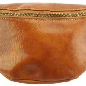 Δερμάτινο Τσαντάκι Μέσης Christian Firenze Leather 6575 Tan