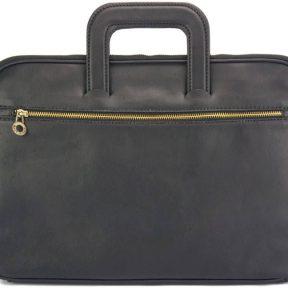 Δερμάτινος Χαρτοφύλακας Jour Firenze Leather 7550 Μαύρο