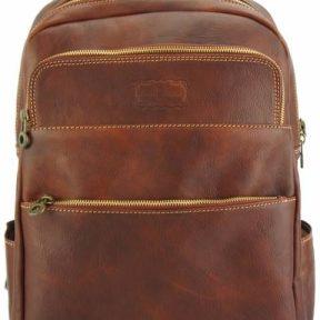 Δερμάτινο Backpack Charlie Firenze Leather 7557 Καφέ
