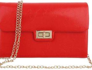 Τσάντα Ώμου Cardinali HL3231 Κόκκινο