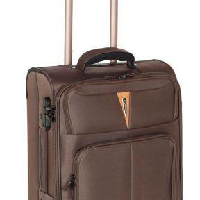 Βαλίτσα Καμπίνας με 4 Ρόδες Diplomat ZC 6101-S Καφέ