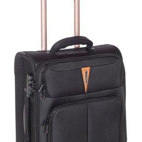 Βαλίτσα Καμπίνας με 4 Ρόδες Diplomat ZC 6101-S Μαύρο