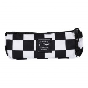 CITY-ECLAIR CHECKERS BLACK