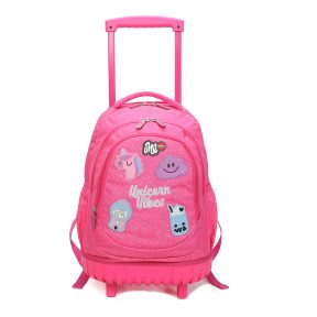 LYC ONE-PINK VIBES TROLLEY BAG