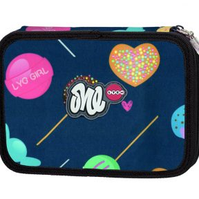LYC ONE-Be Sweet Line filled pencil case