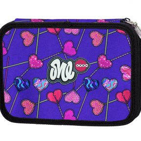 LYC ONE-Cute Hearts Line filled pencil case