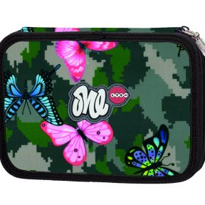 LYC ONE-Girly Camo Line filled pencil case