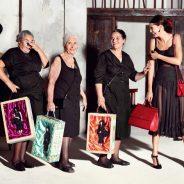 Τσάντες Dolce & Gabanna: 3 ηλικιωμένες γιαγιάδες πρωταγωνιστούν στη νέα διαφημιστική καμπάνια!